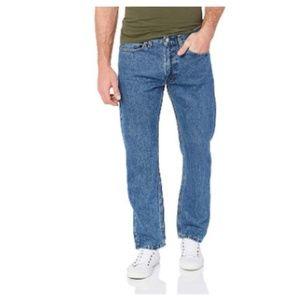 Levi's Men's 505 Regular Fit Jean,  Medium Stonewa